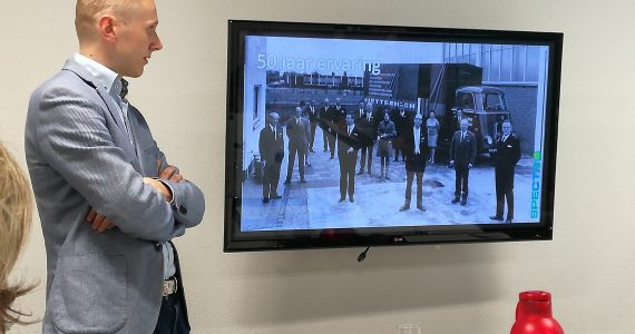 Laurens Metternich vertelt startende ondernemers uit Oss over de rijke historie van zijn Spectro